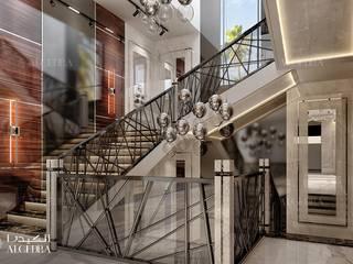 Algedra Interior Design Moderner Flur, Diele & Treppenhaus