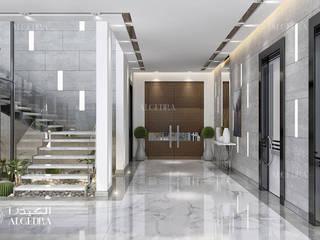 Algedra Interior Design Ingresso, Corridoio & Scale in stile moderno