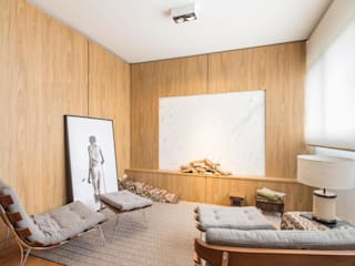 DCC by Next arquitetura Livings de estilo minimalista Madera Beige