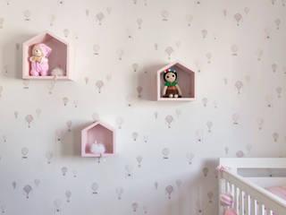 DCC by Next arquitetura Dormitorios de bebé Rosa