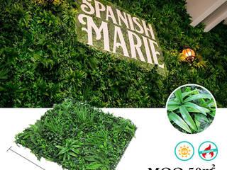Artificial Vertical Garden for Landscaping SUNWING GREEN Garden Plants & flowers Plastic Green