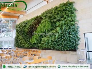Tukang Taman Vertikal Jember NISCALA GARDEN | Tukang Taman Surabaya Gastronomi Tropis