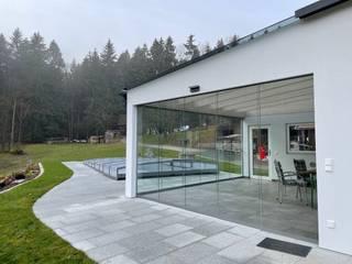 Schmidinger Wintergärten, Fenster & Verglasungen Kleine huizen Glas Transparant