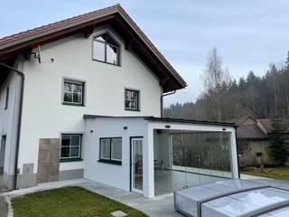 by Schmidinger Wintergärten, Fenster & Verglasungen 모던
