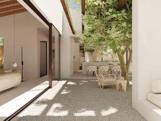 Reconnect house ponyANDcucoBYgigi Casas de estilo mediterráneo