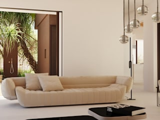 Reconnect house ponyANDcucoBYgigi Salones de estilo mediterráneo