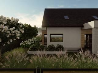 STTYK - Pracownia Architektury Wnętrz i Krajobrazu Modern style gardens