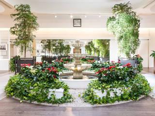 Giardango S.r.l. Società Agricola Tropical style office buildings Green