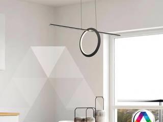 Iluminación para el comedor La Casa de la Lámpara Hoteles de estilo minimalista