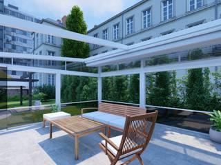 Frankfurt Yılmaz Bey Kış Bahçesi Winter Garden Projesi Buga Mimarlık Tasarım Dekorasyon Kış Bahçesi & Cam Tavan Sistemleri Akdeniz