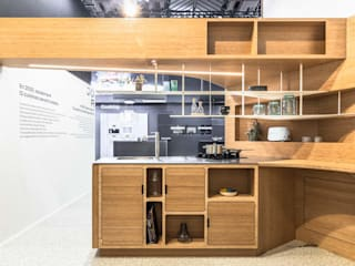 JOA Dapur built in Bambu Wood effect