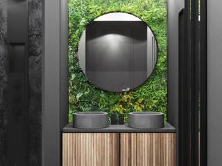 Apartment 312 Deev Design Moderne badkamers Bamboe Groen