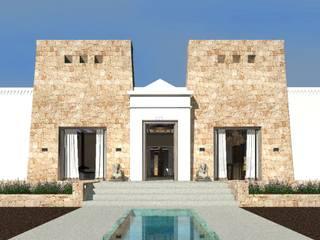 Casa Templo Egipcio Antiguo AND3D Villas
