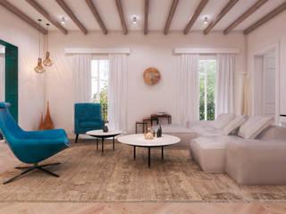 Reforma de piso en Madrid centro AND3D Salones de estilo clásico