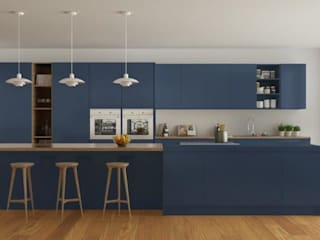 vanetta küchen KitchenStorage Kayu Blue