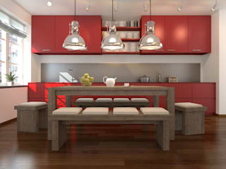 vanetta küchen – 2021 MDEL HİRA MUTFAK: modern tarz , Modern