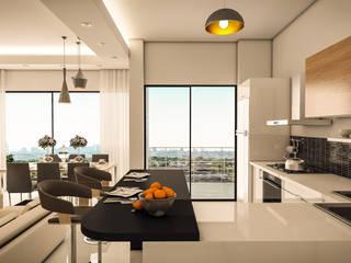 vanetta küchen – 2021 MODEL VANETTA TERRA: modern tarz , Modern