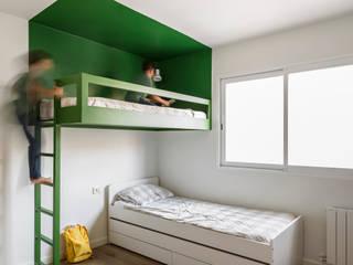 Home in Ciudad Universitaria tambori arquitectes Nursery/kid's room
