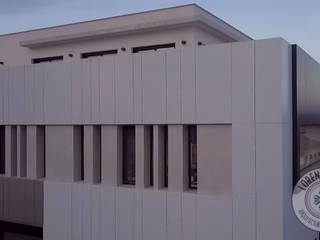 OFICINAS METEORED Oficinas y tiendas de estilo moderno de ESTUDIO de ARQUITECTURA INTERIOR. Lorena GoYes Moderno