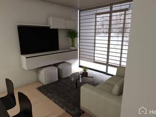 Proyecto Providencia, RM, Chile Gabi's Home Livings de estilo moderno