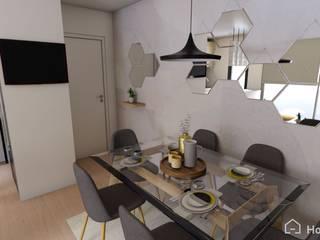 Proyecto San Miguel, Chile Gabi's Home Comedores de estilo minimalista