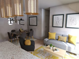 Proyecto San Miguel, Chile Gabi's Home Livings de estilo minimalista