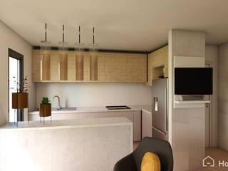 Proyecto San Miguel, Chile Gabi's Home Cocinas de estilo minimalista