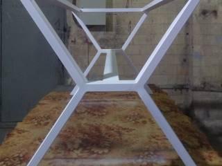 Подстолье белое Х-образное для мрамора, дерева Newforge