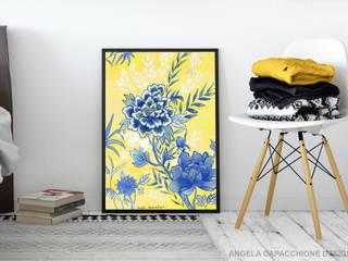 ILLUSTRAZIONI ISPIRATE ALLO STILE CINESE (CHINOISERIE) Angela Capacchione Design ArteImmagini & Dipinti Carta