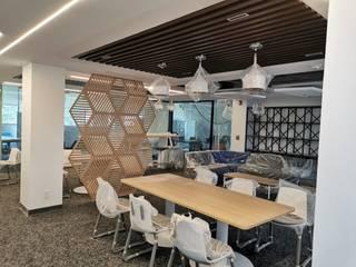 Diseño de interiores DILSMAC Office spaces & stores Parket Wood effect