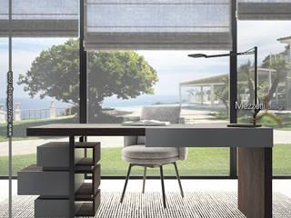 Mezzettidesign Study/officeDesks Wood Grey