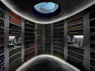 Cave do Vinho Rustic style wine cellar