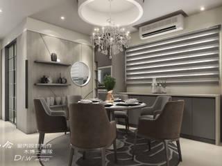現代手法引領新古典柔和、喚醒藝術典雅氣質--詠丞文匯 木博士團隊/動念室內設計制作 餐廳