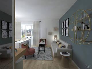 Projet VIRIDI EMMA WILLINGER Salon moderne