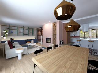 Projet SANCTUS EMMA WILLINGER Salon moderne