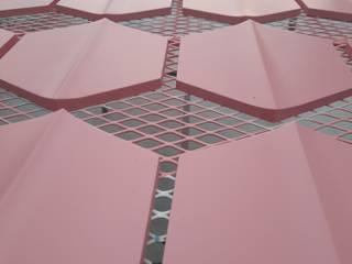 Hexágono Diagonal GRUPO DALÒ Paredes y pisos de estilo moderno