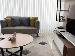 Proy. Los Olivos - Sala Comedor KIARA NOVOA INTERIORISTA Salas modernas