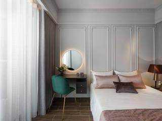 暖灰的表情 伏見設計事業有限公司 小臥室