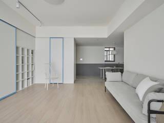 寓子設計 Scandinavische woonkamers