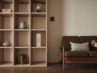 寓子設計 Aziatische woonkamers