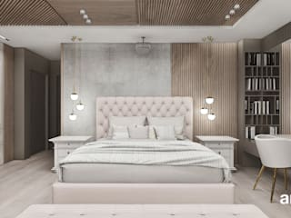 ARTDESIGN architektura wnętrz Scandinavian style bedroom