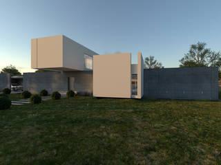 CASA MG D'ODORICO arquitectura Casas multifamiliares Blanco