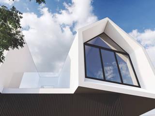 PARROQUIA NUESTRA Sra. DE LA MERCED D'ODORICO arquitectura Casas modernas: Ideas, imágenes y decoración