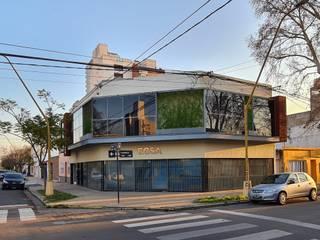 OFICINAS ECSA D'ODORICO arquitectura Estudios y oficinas modernos