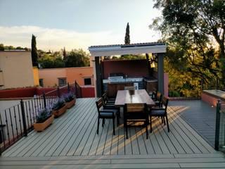 Roof Garden San Miguel Maderplastic Eco Balcones y terrazas coloniales Madera
