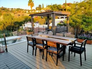 Roof Garden San Miguel Maderplastic Eco Balcones y terrazas coloniales