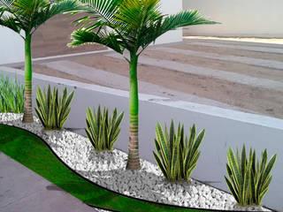 Diseño de jardín en casa habitación IDEAL Jardinería Casitas de jardín