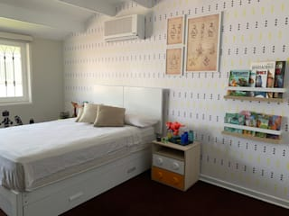 Proy. La Molina - Dormitorio niño KIARA NOVOA INTERIORISTA Dormitorios infantiles