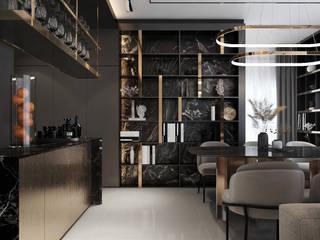 ramรับออกแบบตกแต่งภายใน Paisajismo de interiores Aglomerado Ámbar/Dorado
