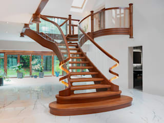 Staircase Dan Wray Photography บันได ไม้ Wood effect